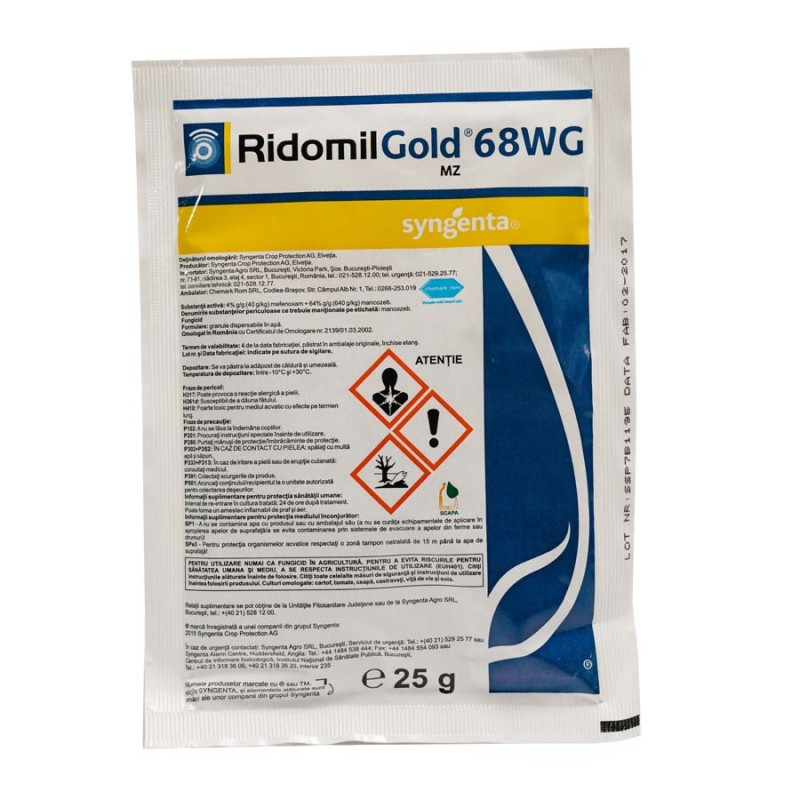 Seedforth - Fungicide-ridomil-gold-mz-68-wg